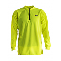 Swazi Quick-Dry High Visibility Long Sleeve Shirt Fluoro Yellow Small