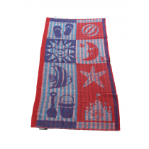 Nautical Terry Beach Towel 75 x 150cm