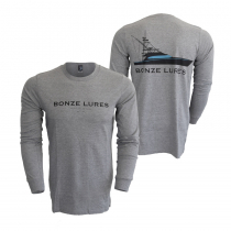 Bonze Carolina Flare Long Sleeve T-Shirt Grey