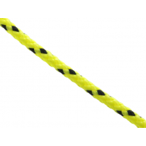 Donaghys Superspeed Braid Rope 3mm Fluoro Yellow/Black Fleck - Per Metre