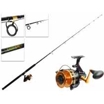PENN 850SSM and Shimano Sniper Baitrunner Spin Combo 7ft 8-15kg 1pc