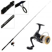 Daiwa Sweepfire 2500 Eliminator 702LS Spinning Freshwater Combo with Line 7ft 2-4kg 2pc