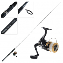 Daiwa Sweepfire 2500 Strikeforce Telescopic Freshwater Travel Combo with Line 7ft 1-3kg 5pc