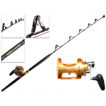 TiCA 50WTS 2-Speed and Kilwell Fully Rollered Bent Butt Game Combo IGFA 5ft 7in 24kg 1pc