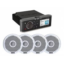 Fusion Marine MS-AV755 Entertainment Package with 2 Pairs Speakers