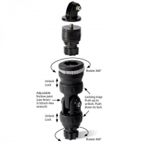 RAILBLAZA Camera Mount Kit with R-LOCK