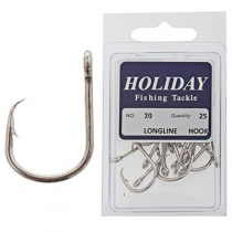 Stainless Longline Hook Pack Size 20 Qty 25