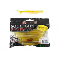 Squidgies Pro Flick Soft Bait with S-Factor Attractant 110mm Lemon