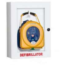 Defibrillator Display Cabinet White