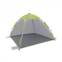 Campmaster Pop Up Sun Shelter with Two Fixed Walls