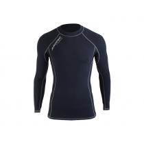Aropec Mens Compression Long Sleeve Top L