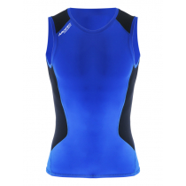 Aropec Mens Compression Singlet Blue/Black XL