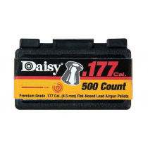 Daisy .177 Caliber Flat Pellets 500 Count - 12 Boxes