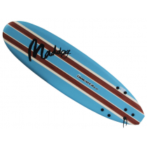 Maddog Thruster Surfboard 6ft 2in Sky Blue