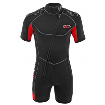 Aropec Prima Neoprene Super-Stretch Mens Shorty Wetsuit 5mm L