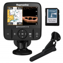 Raymarine Dragonfly 5 PRO CHIRP GPS/Fishfinder Package