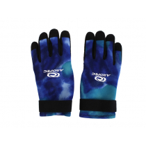 Aropec Blue Camo Spearfishing Dive Gloves 2mm L