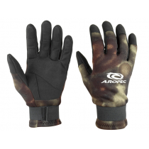 Aropec Camo Spear Fishing Glove 2mm M