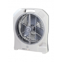 AC/DC Rechargeable Oscillating Fan 14in