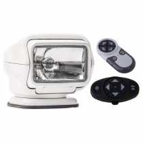 GOLIGHT Stryker ST 3000ST Halogen Spotlight White with Handheld and Dash Remote