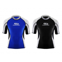 Aropec Star Lycra Mens Short Sleeve Rash Top L-XL