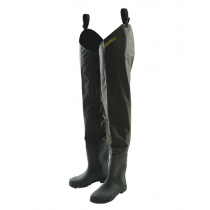 Kilwell Hip Waders with Cleated Soles Olive US8