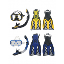 Mirage Crystal Adult Mask Snorkel and Fins Set