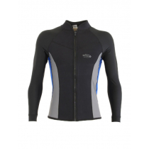 Mirage Mens Watersport Rash Top Black