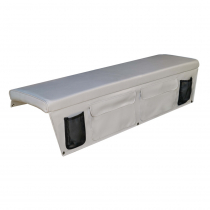 Oceansouth Boat Seat Cushion with Pocket Grey
