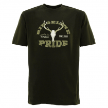 Ridgeline Mens Ridgeline Stag T-Shirt Olive
