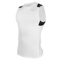 Sharkskin Compression R-Series Mens Sleeveless Top White