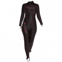 Sharkskin Chillproof Womens Thermal Suit Rear Zip