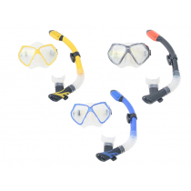 Aropec Adult Silicone Mask and Dry Snorkel Set