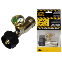 Black and Stone Gas Safety Gauge