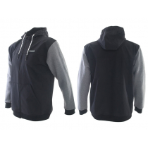 Shimano Bonded Fleece Hooded Jacket Black/Grey XXL