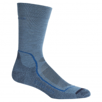Icebreaker Mens Hike+ Light Crew Socks Thunder