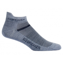 Icebreaker Mens Merino Multisport Ultralight Micro Socks Fossil/Monsoon