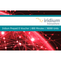Iridium Pre-Paid E-Voucher 600 Minutes or 36000 Units 1 Year Validity