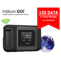 Iridium Go! Monthly Subscription with 150 Data or Voice Minutes - 111.27USD/month