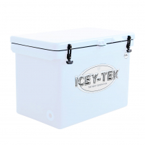 Icey-Tek Cube Chilly Bin Cooler White
