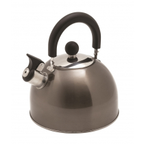 Kiwi Camping Deluxe Whistling Kettle Graphite 2.5L