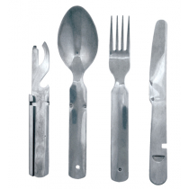 Kiwi Camping Stainless Steel Cutlery Set