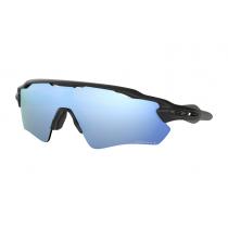 Oakley Radar EV Path PRIZM Polarised Sunglasses Black Frame/Deep Water Lens