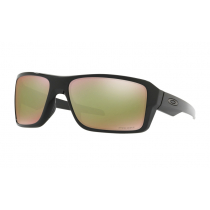 Oakley Double Edge PRIZM Polarised Sunglasses Black Frame/Shallow Water Lens