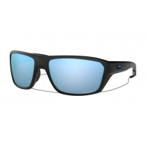 Oakley Split Shot PRIZM Polarised Sunglassess Black Frame/Deep Water Lens