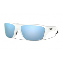 Oakley Split Shot PRIZM Polarised Sunglassess White Frame/Deep Water Lens