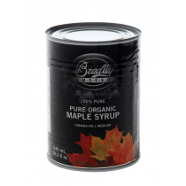Bradley 100% Organic Maple Syrup 540ml