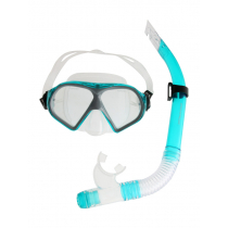 Mirage Freedom Silicone Dive Mask and Snorkel Set Green