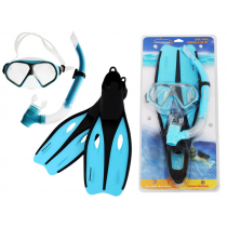 Mirage Challenge Adult Snorkeling Set Small Blue