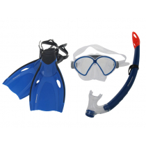 Mirage Comet Junior Mask Snorkel and Fins Set Blue L